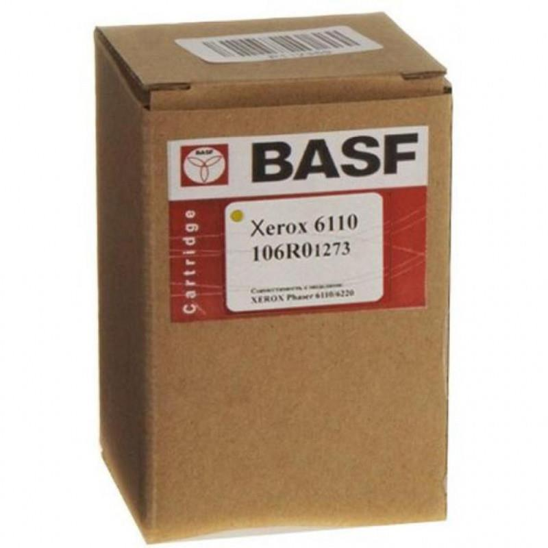 Картридж BASF для Xerox Phaser 6110/ 106R01273 Yellow (WWMID-78313)